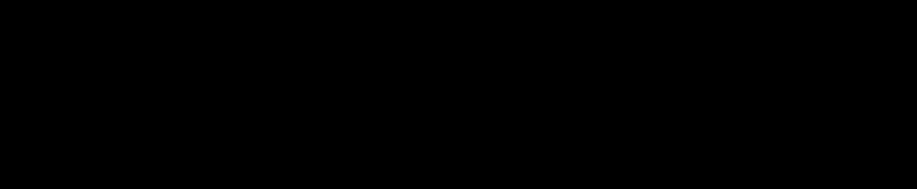 ト音記号とヘ音記号の両手の音階