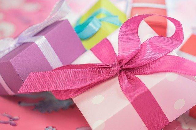 カラフルなプレゼントボックス