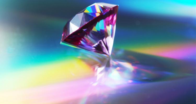 美しいダイヤモンド