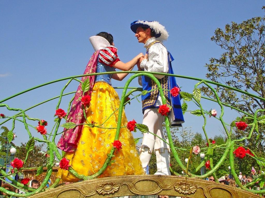 白雪姫と王子様
