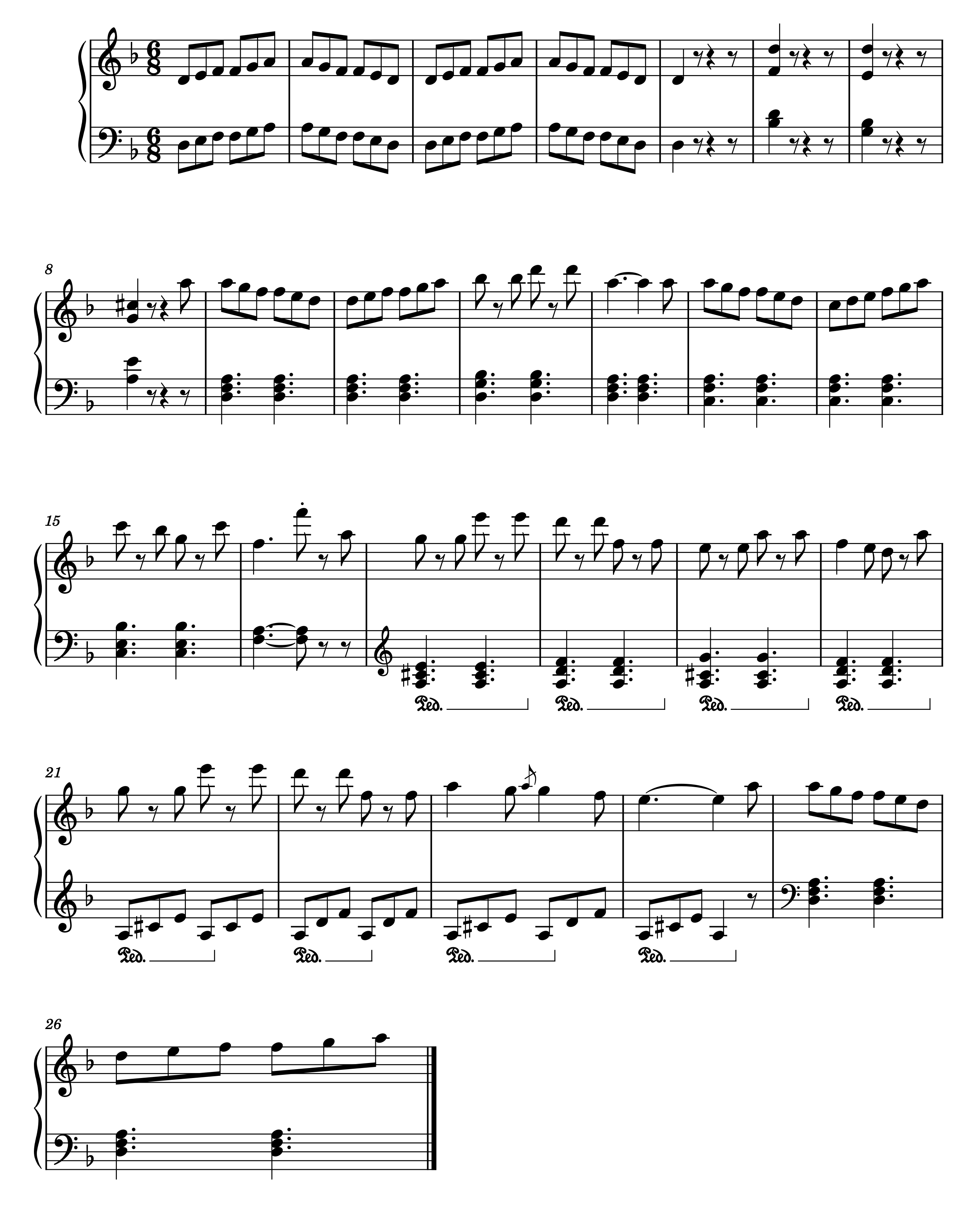タランテラ楽譜