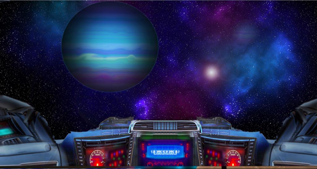 宇宙船操縦室